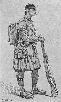 soldat-du-7th-seaforth-highlanders